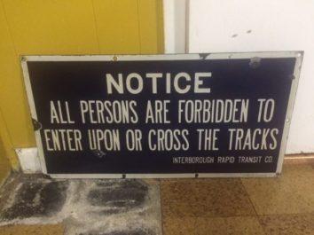 A railway line?