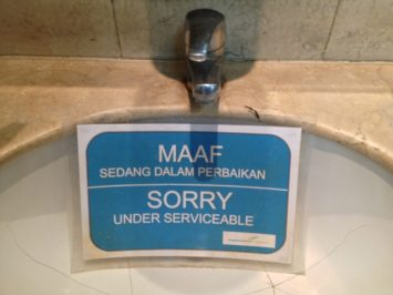 Sorry Under Serviceable